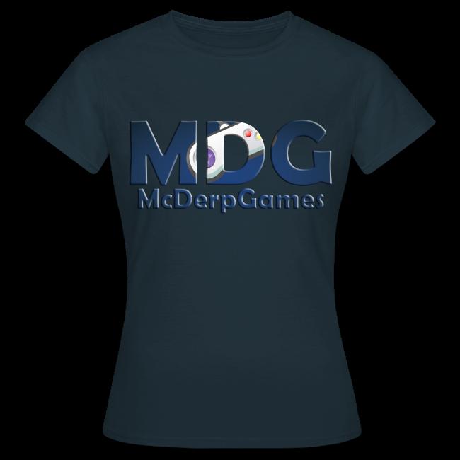 MDG McDerpGames Shirt Vrouwen