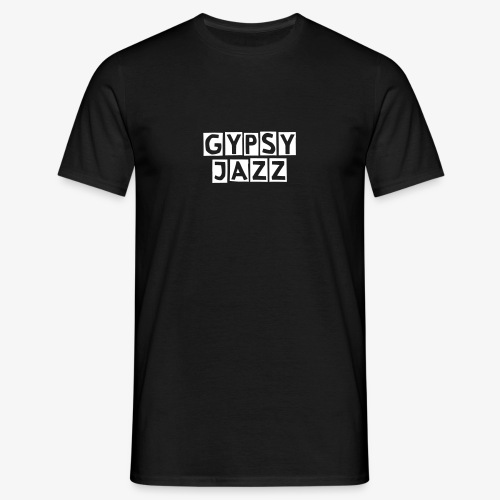 T-shirt Gypsy Jazz Noir - T-shirt Homme