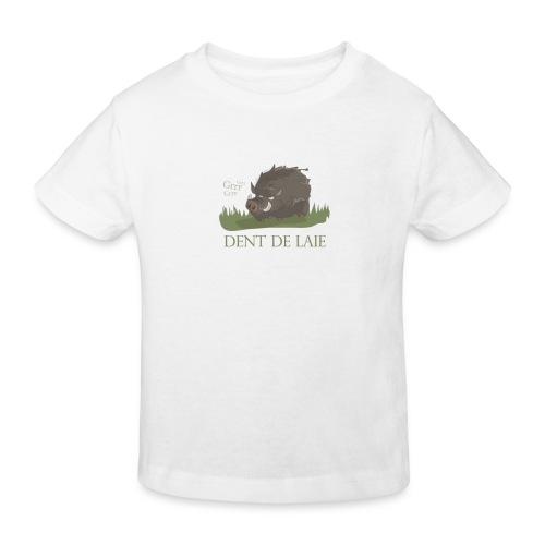 T-shirt bio Enfant - valeriezloty,sanglier,humour,furieux,colère,chasse,animal