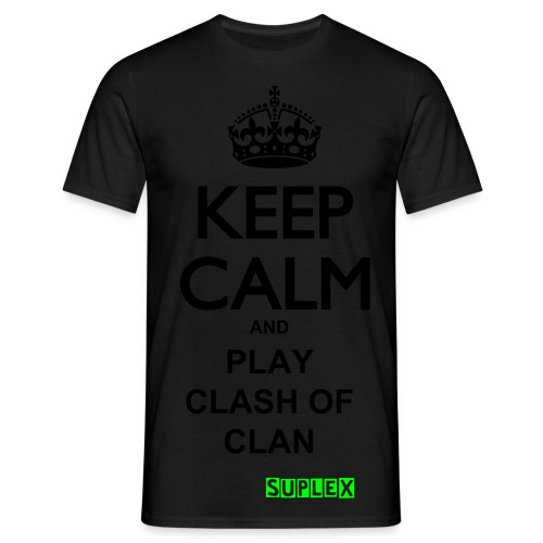 Keep Calm And Play Clash Of Clan  - T-shirt Homme