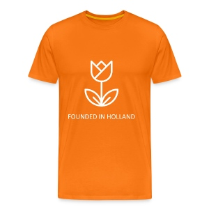 Orange Men's Tee 2 - Men's Premium T-Shirt