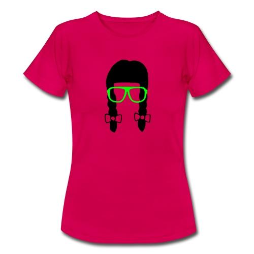 nerd girl - Maglietta da donna
