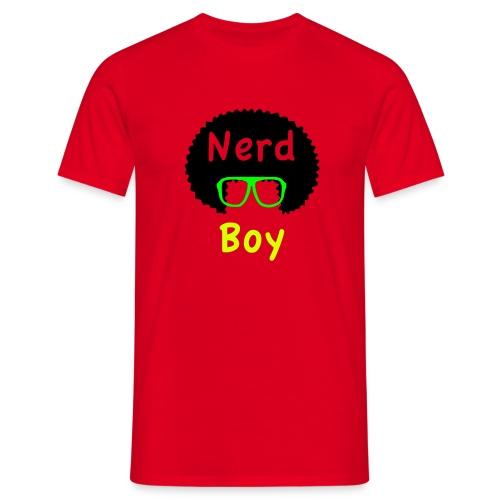nerd boy - Maglietta da uomo