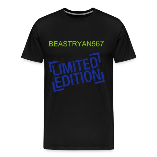 BEASTRYAN567 limited edition t shirt  - Men's Premium T-Shirt