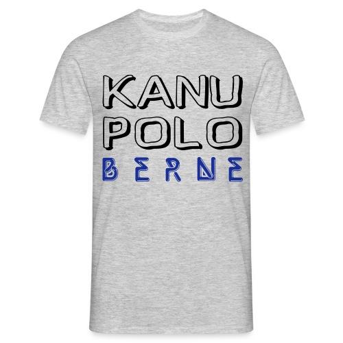 Shirt Berne schwarz/blau - Männer T-Shirt