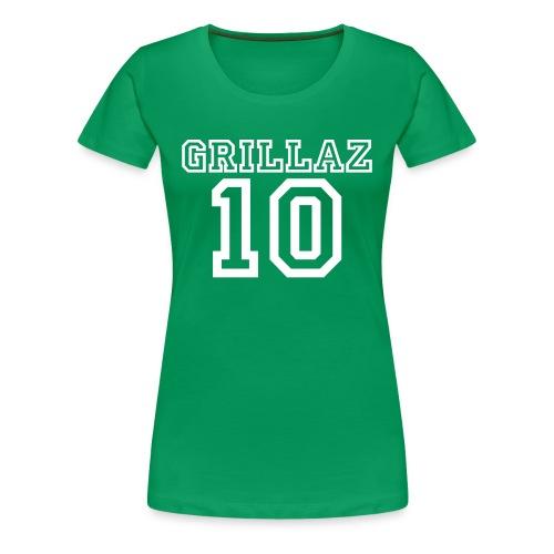 Support 10 Women - Frauen Premium T-Shirt