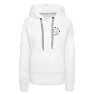 Hoodies & Sweatshirts ~ Women's Premium Hoodie ~ Downsman Womens Hooded Sweatshirt
