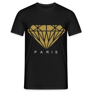 Tee Shirt PARIS COUTURE OR - T-shirt Homme