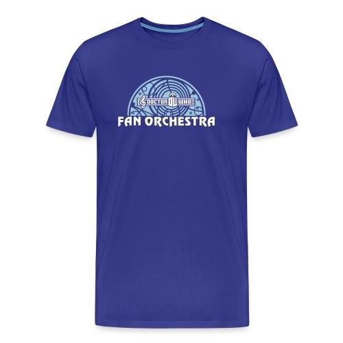 Men's Royal - DWFO logo T - Men's Premium T-Shirt