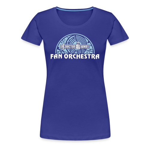 Women's Royal - DWFO logo T - Women's Premium T-Shirt