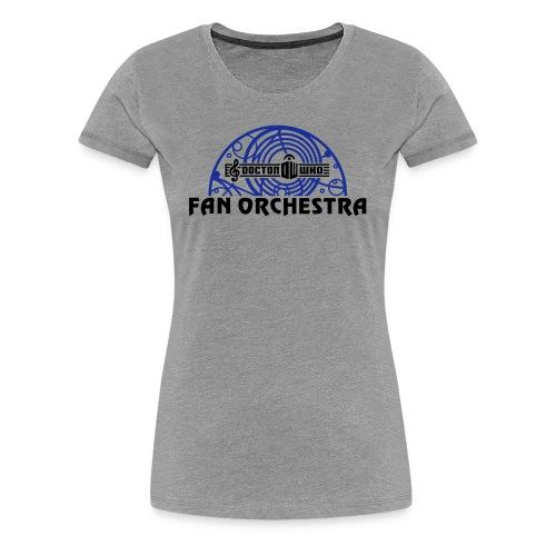 Women's Gray - DWFO logo T - Women's Premium T-Shirt