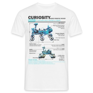 Curiosity Rover - Men's T-Shirt