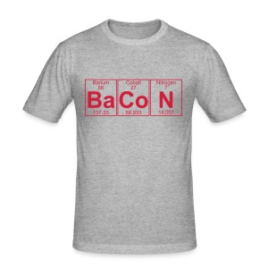 BaCoN Tee - Männer Slim Fit T-Shirt