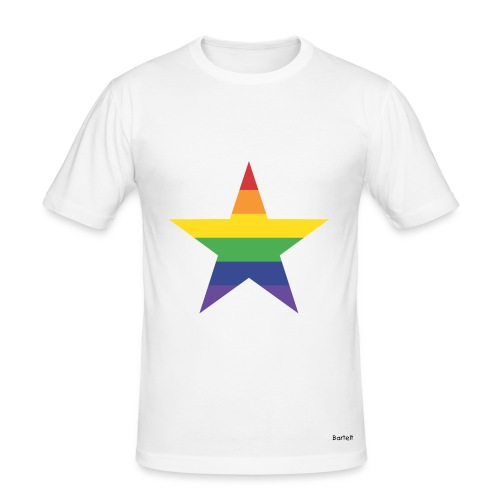 Star Tee - Männer Slim Fit T-Shirt
