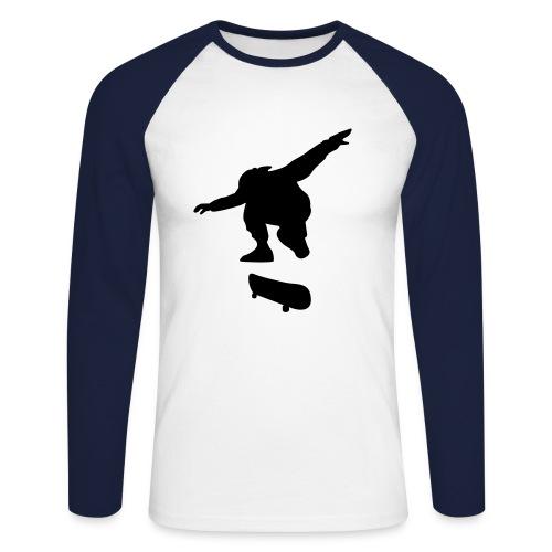 Skater - Men's Long Sleeve Baseball T-Shirt