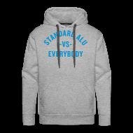 Pullover & Hoodies ~ Männer Premium Kapuzenpullover ~ Hoodie Alu vs Everybody/men