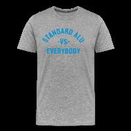 T-Shirts ~ Männer Premium T-Shirt ~ T-Shirt Alu vs Everybody/men
