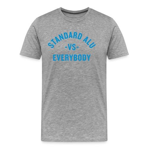 T-Shirt Alu vs Everybody/men - Männer Premium T-Shirt