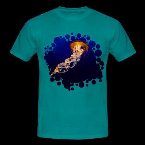 Qualle - Männer T-Shirt