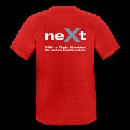 T-Shirts ~ Männer T-Shirt atmungsaktiv ~ neXt T-Shirt - atmungsaktiv rot