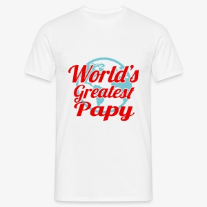 World's Greatest Papy - T-shirt Homme