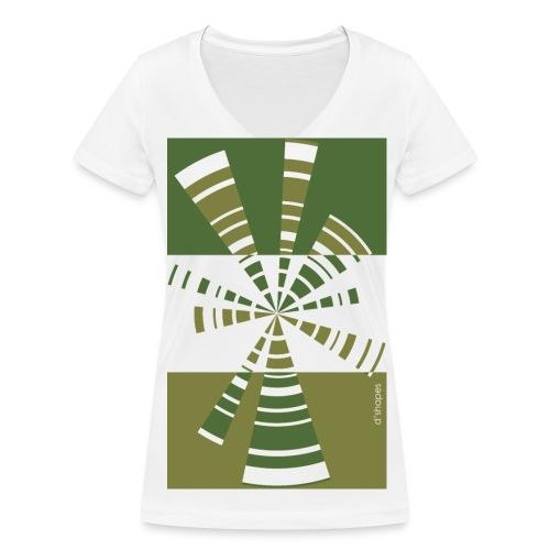Radio Treetop - Woman V T-shirt - T-shirt ecologica da donna con scollo a V di Stanley & Stella