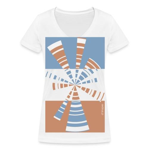 Radio Dusk - Woman V T-shirt - T-shirt ecologica da donna con scollo a V di Stanley & Stella