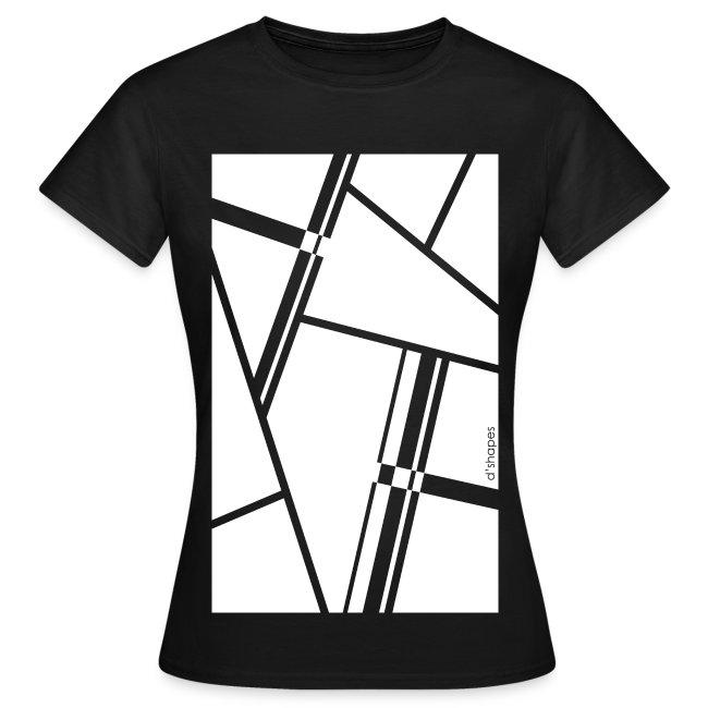 Blocks White - Woman T-shirt
