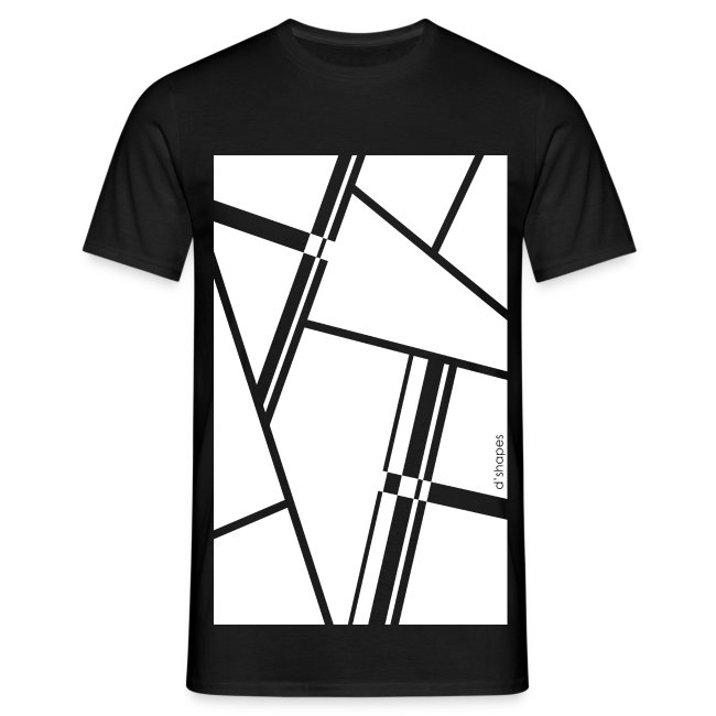 Blocks White - Man T-shirt