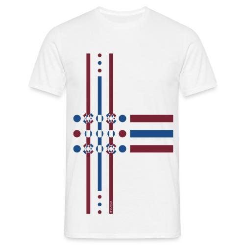 Dots Dusk - Man T-shirt   - Maglietta da uomo