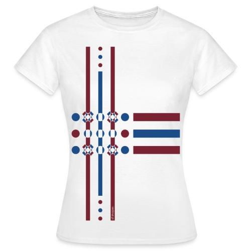 Dots Dusk - Woman T-shirt - Maglietta da donna