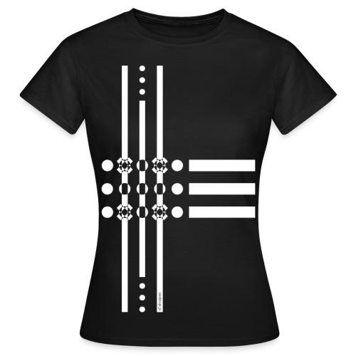Dots White - Woman T-shirt - Maglietta da donna