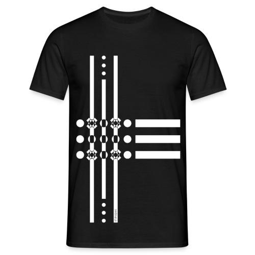 Dots White - Man T-shirt   - Maglietta da uomo