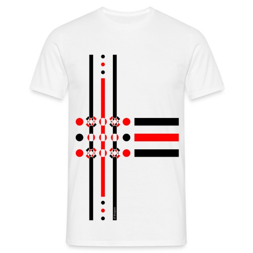 Dots Red - Man T-shirt   - Maglietta da uomo