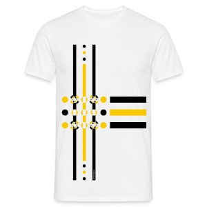 Dots Yellow - Man T-shirt   - Maglietta da uomo