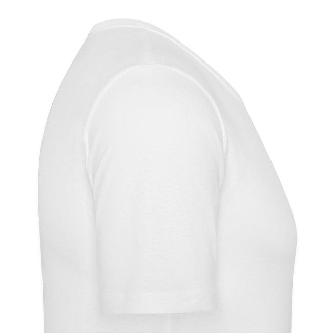Radio White - Man Slim T-shirt