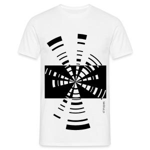 Radio White - Man T-shirt   - Maglietta da uomo