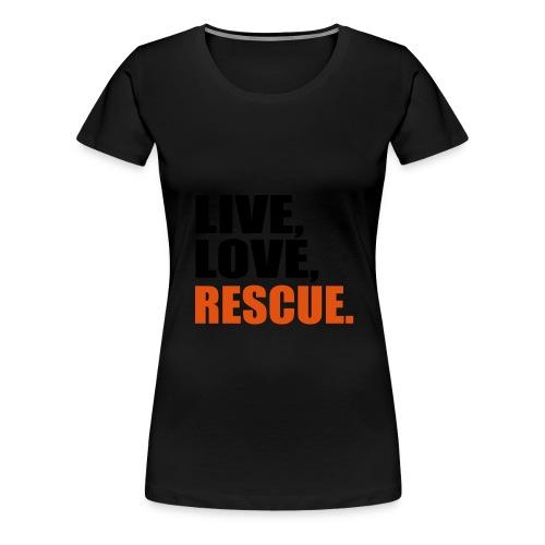 Rettungsdienst Feuerlingen Damen - Frauen Premium T-Shirt