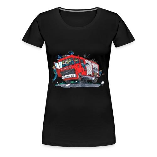 Feuerwehr Feuerlingen Damen - Frauen Premium T-Shirt