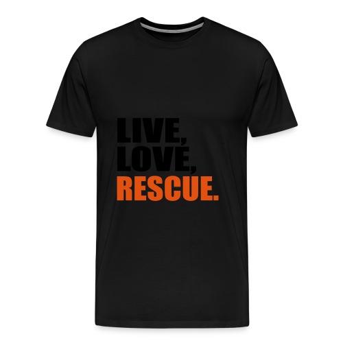 Rettungsdienst Feuerlingen Herren - Männer Premium T-Shirt