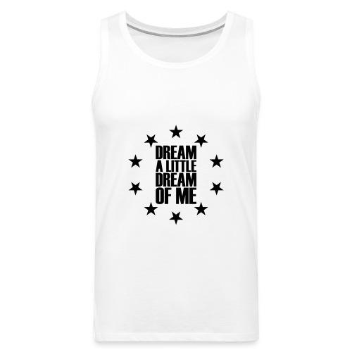 Dream (Velvety Effect)  - Men's Premium Tank Top