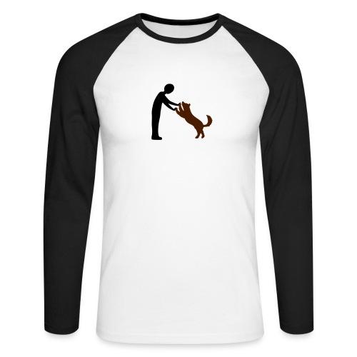 Maglia da baseball a manica lunga da uomo