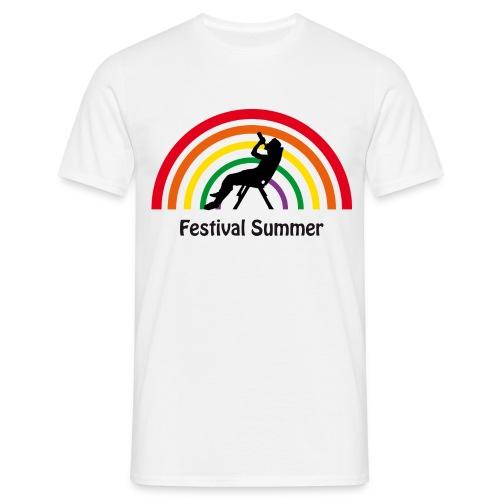 Festival summer T-shirt - Herre-T-shirt