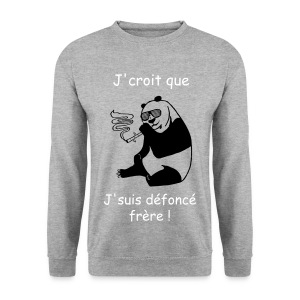 Panda Smoke - Sweat-shirt Homme