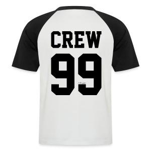 Black on White - AliExpress Lover - Mannen baseballshirt korte mouw