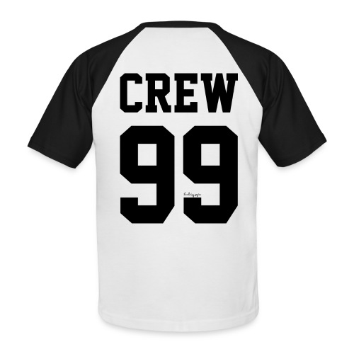 Black on White - AliExpress Lover - Mannen baseballshirt korte mouw