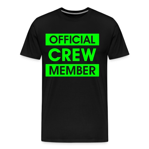 Official Crew Member Shirt - Men's Premium T-Shirt