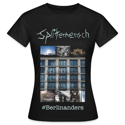#Berlinanders Girlie - Frauen T-Shirt