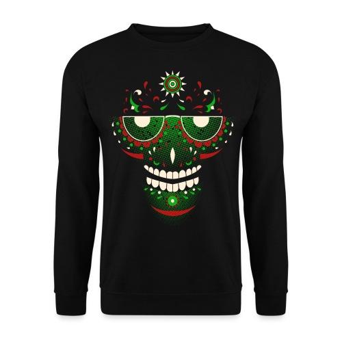 Weed Skull | Sweatshirt - Männer Pullover