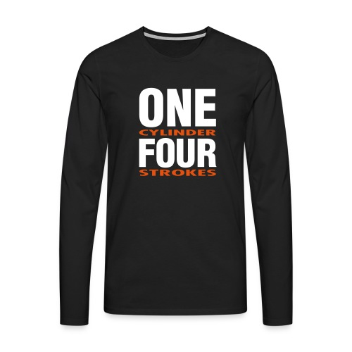 Longsleeve ONE/FOUR - Männer Premium Langarmshirt
